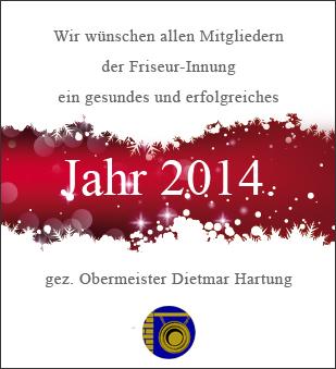 Neujahrsgrüße 2014
